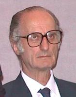 ritratto di Giovanni Conso (ex presidente della Corte Costituzionale ed ex ministro dela giustizia, Italia)