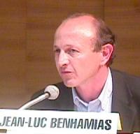 ritratto di Jean-Luc BENHAMIAS (Secrétaire Général des Verts)