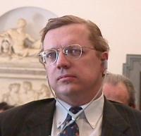 ritratto di David SCHEFFER ( Ambassador, Special envoy of the US Government for  war crimes)