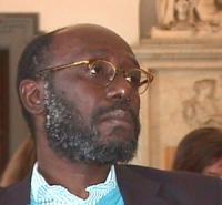 ritratto di Pierre Sane, (Presidente di Amnesty International)