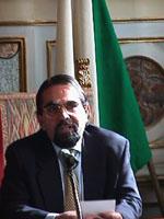"Convegno ""Leva la Leva"" ritratto di Mario Baldassarri, economista."