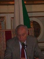 """Convegno """"Leva la leva"""". Ritratto di Luigi Ramponi, responsabile difesa di Alleanza Nazionale"""