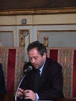 Ritratto di Marco Taradash, deputato di Forza Italia
