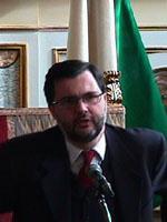 Ritratto di Giuseppe Vega, deputato di Forza Italia
