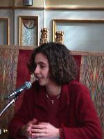 """Valentina Piattelli, coordinatrice di """"Nè giusta né utile""""."""