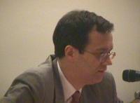Ritratto di Perrin de Brichambaut, sostituto capo della delegazione francese alla Conferenza Diplomatica per l'istituzione del Tribunale Penale Intern