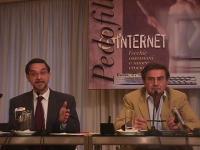 A sinistra: Piero Rocchini, psichiatra, relatore al Convegno Pedofilia e Internet, organizzato dal Partito Radicale e da Radio Radicale.