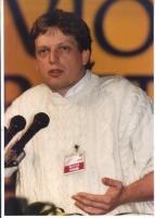 Gianni Cuperlo (FGCI) interviene al 36° Congresso, II sessione, del Partito Radicale.