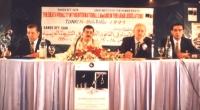 Sergio D'Elia insieme ad altri, alla prima conferenza panaraba contro la pena di morte.