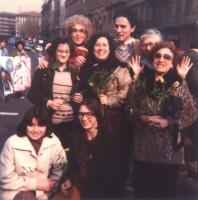 Francesco Rutelli a una manifestazione antimilitarista, contro la fame nel mondo. (Fondo Cinti Nediani) Nelle altre, su carta: fotografie del fondo Ci