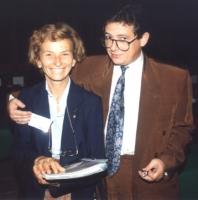 Emma Bonino e Konstantin Adzharov, presidente del Partito Cristiano Repubblicano di Bulgaria.