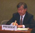 Commissione sui diritti umani. Briefing sulla situazione dei diritti umani in Cina e in Tibet, 10 anni dopo il massacro del 4 giugno. Ritratto di Cheu