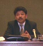 Commissione sui diritti umani. Briefing sulla situazione dei diritti umani in Cina e in Tibet. Ritratto di Ngawang Drakmargyapon, del Tibet Bureau a G