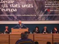 II Assemblea dei Mille per la liberazione del lavoro e dell'impresa, per gli stati uniti d'Europa. Alla presidenza (da sinistra a destra: Paolo Vigeva