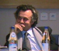 """""""Per un mercato dell'audiovisivo europeo competitivo, trasparente e di qualità"""". Dibattito alla Sala Leo del Parlamento Europeo.  Ritratto di Antonio"""