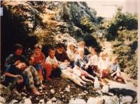 Immagini di profughi del Kosovo. Altre digitali.