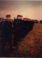 L'esercito dell'ALK (Army of Liberation of Kosovo). Altre digitali, di soldati, bandiere, onoranze ai caduti.