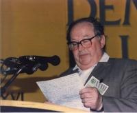 XXXVI Congresso del Pr. Ritratto di Anton Lintzmayer, deputato al parlamento rumeno, rappresentante della minoranza greca.