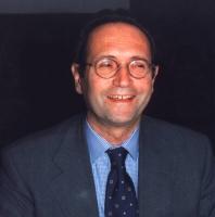 Ritratto di Roberto Zaccaria, presidente della Rai.