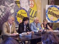 Assemblea di chiusura della campagna elettorale per le europee della lista Bonino, aperta a militanti e simpatizzanti, presso la sede romana del Pr. A