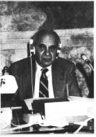 Ritratto di Vassily Leontieff, premio Nobel, iscritto al Partito Radicale nel 1987.