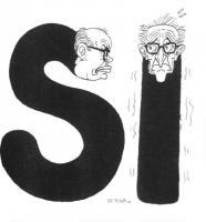 """""""Il Psi voterà sì nei referendum"""" (la didascalia di Forattini, autore della vignetta, si riferisce ai cinque referendum radicali per la responsabilità"""