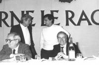 Negri al 32° congresso PR I sessione con Vesce, Bandinelli e Tortora. (BN) buona. Nelle altre ritratti di Negri che parla a vari congressi radicali