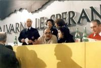 32° congresso PR I sessione. Lino Jannuzzi seduto alla presidenza.