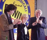 Assemblea dei radicali, in vista della presentazione alle regionali delle liste radicali Emma Bonino, e della campagna referendaria. Marco Pannella e