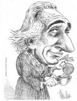 """VIGNETTA Marco Pannella, in vestaglia da camera, intinge in una tazza di tè, un biscotto su cui è scritto """"Psi"""". Disegno di Franco Bruna, pubblicato s"""