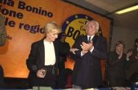 Assemblea dei Radicali all'hotel Ergife di Roma, per la presentazione alle regionali delle liste radicali Emma Bonino. Lungo applauso di Marco Pannell