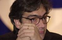 Assemblea dei Radicali all'hotel Ergife di Roma, per la presentazione alle regionali delle liste radicali Emma Bonino. Ritratto di Maurizio Turco (pri