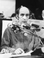 Primo piano di Leonid Plioutsch (o Plioush, Pliush) (dissidente sovietico)  (BN) buona