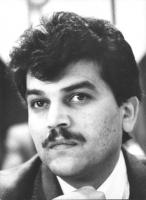 Ritratto di Emil Scuka segretario generale dell'unione internazionale dei Rom (BN)