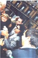 Arresto di Rita Bernardini a piazza Navona, durante un'iniziativa di disobbedienza civile: distribuzione di hashish.