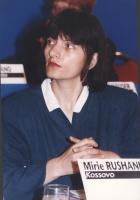 Marie Rushani, esponente del partito parlamentare del Kossovo.