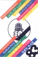 Tessera di iscrizione del 1983 al Partito Radicale transnazionale.