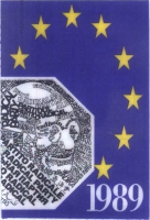 Tessera di iscrizione del 1989 al Partito Radicale.