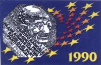 Tessera di iscrizione del 1990 al Partito Radicale.