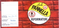 Tessera di iscrizione del 1996 al Movimento dei Club Pannella - Riformatori, intestata a Olivier Dupuis, firmata dal presidente Marco Pannella, dal co