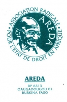 Tessera dell'AREDA (Association radicale pour l'etat de droit en Afrique).