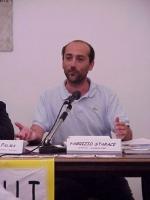 """Ritratto di Fabrizio Starace, psichiatra e consulente OMS, in occasione del convegno: """"LEGGE JERVOLINO-VASSALLI: 10 ANNI DI FALLIMENTI""""."""