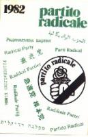 Tessera di iscrizione al PR del 1982.