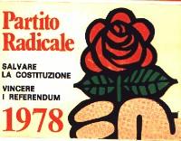 Tessera di iscrizione al PR del 1978.