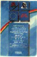 Tessera di iscrizione al PR del 1988.
