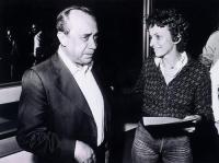 Leonardo Sciascia ed Emma Bonino.