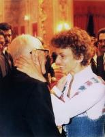 Sandro Pertini ed Emma Bonino.
