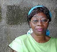 Olajinka KOSO-THOMAS leader of the anti-genital multilation campaign (Nigeria)