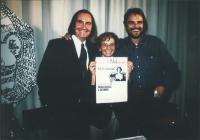 """conferenza stampa al partito radicale con Emma Bonino, Oliviero Toscani e Gavino Sanna. (Per presentare il quotidiano radicale: """"1994""""). Ottima, impor"""