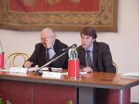 Claudio Moreno e Luca Pierantoni alla Conferenza intergovernativa sullo statuto di Roma.